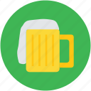 ale, beer, beer mug, beverage, chilled beer, drink