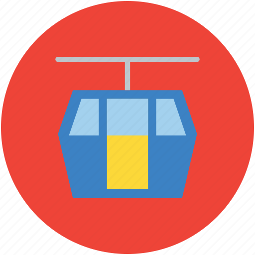 aerial lift, cable car, chairlift, detachable, lift, ropeway icon