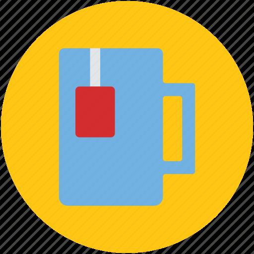 hot tea, instant tea, tea, tea bag, tea package icon