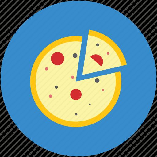 fast food, food, italian food, junk food, pizza, pizza piece icon