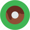 brownie, confectionery, cookie, dessert, donut, doughnut, eating icon