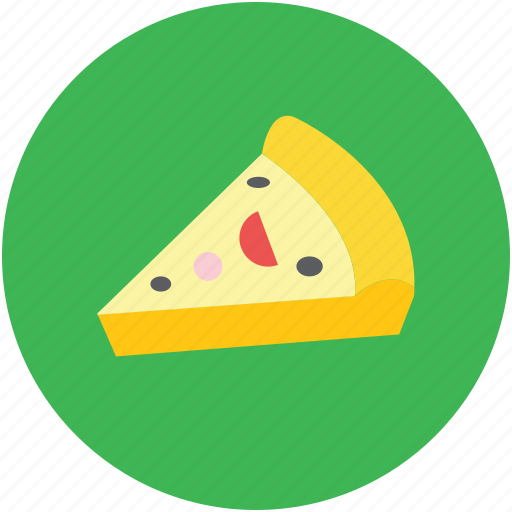 fast food, food, italian food, junk food, pizza, pizza piece icon