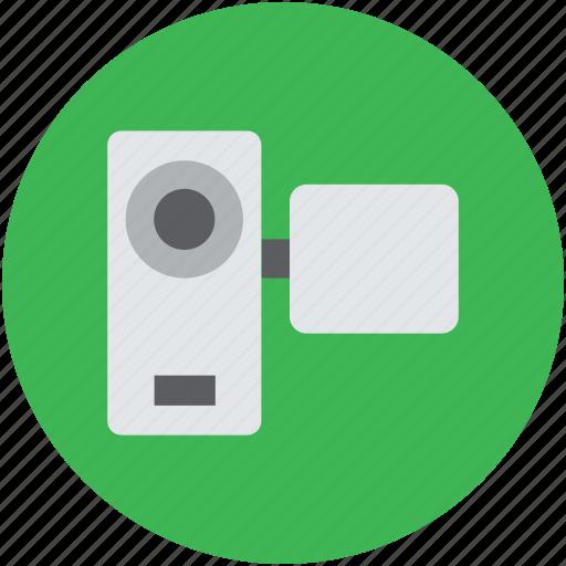 camcorder, camera, film camera, handycam, movie camera, video camera icon