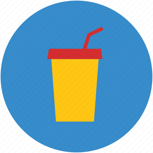 disposable cup, drink, juice cup, paper cup, smoothie cup icon