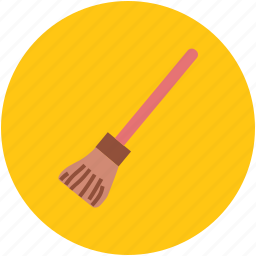 broom, brush, cleaner, cleaning, cleaning utensil, mop, sweeping icon