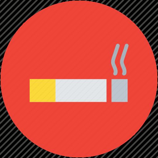 cigar, cigarette, cigarette with smoke, smoking, tobacco icon