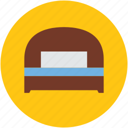 bassinet, bed, furniture, relax, single bed, sleep icon