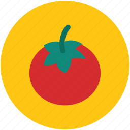 diet, food, healthy diet, organic, tomato, vegetable icon