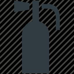 emergency, extinguisher, extinguisher security, fire extinguisher, fire safety icon