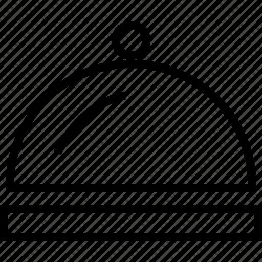 food, hotel, meal, platter, restaurant icon