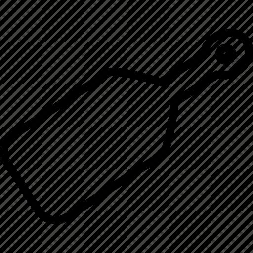 card, label, paddle, pizza board, tag icon