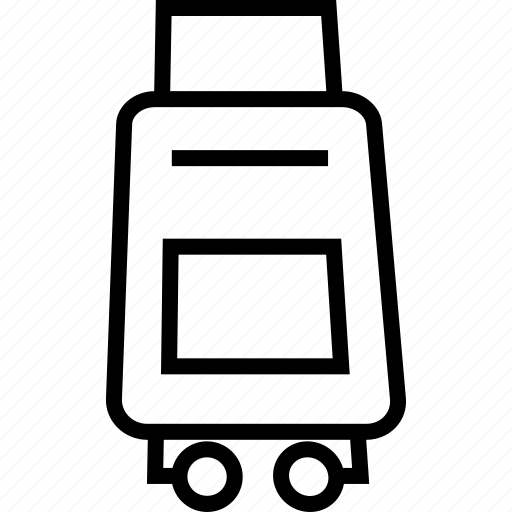bag, luggage, tourist, trolley icon