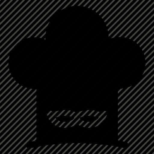 avatar, cap, chef, knife, man, uniform icon
