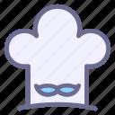 bakery, chef, cook, hat, kitchen, restaurant, uniform icon