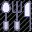 fork, gastronomy, kitchen, spoon, tools, utensil, utensils icon