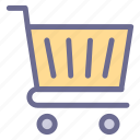 basket, buy, cart, commerce, delivery, shopping, troll icon