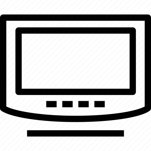 display, hotel tv, monitor, screen, television, tv, video icon