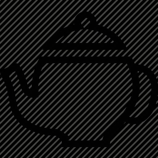 drink, kettle, pot, tea, teapot icon