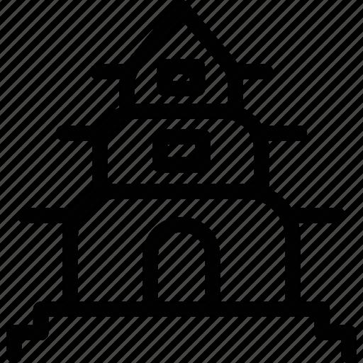 building, business, estate, hotel, motel icon