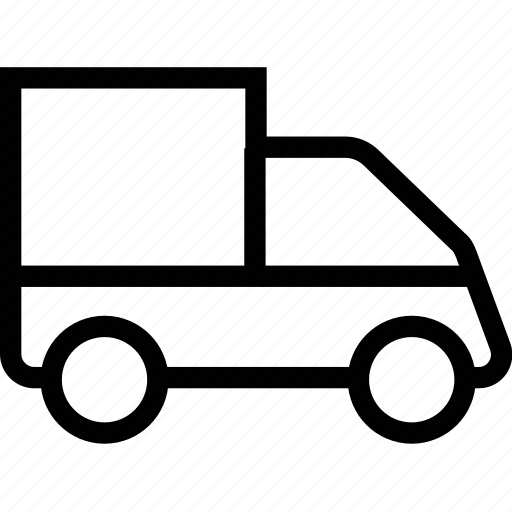 delivery, service, transport, van, vehicle icon