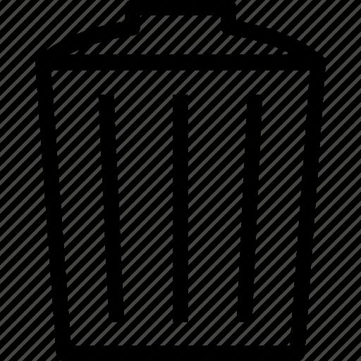 bin, delete, garbage, hotel, recycle, remove, trash icon