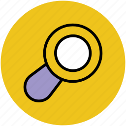 magnifier, magnifying glass, pocket magnifier, search tool, searching glass, zoom icon