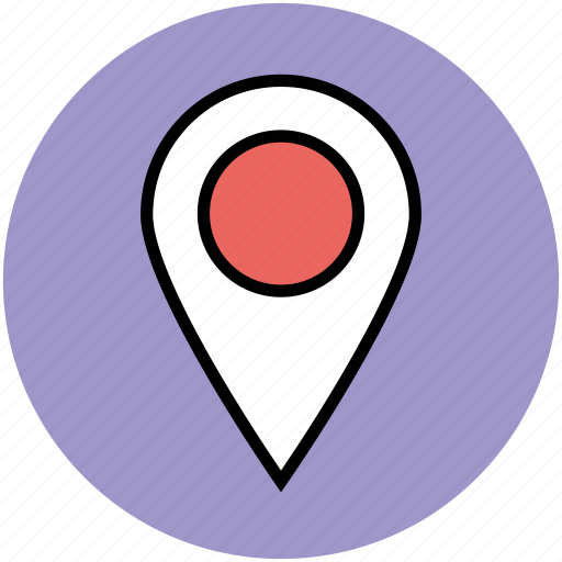 gps, location pin, locator, map marker, map pin, map pointer, navigation icon
