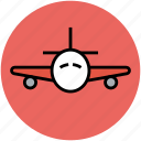 airbus, airliner, airplane, flight, plane, travel icon