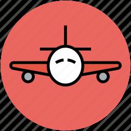 airbus, airliner, airplane, flight, plane, travel icon