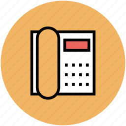 communication, landline, office telephone, telecommunication device, telephone icon