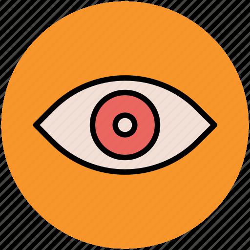eye, human eye, view, visible, visual icon