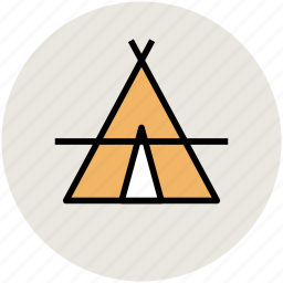 camp, camping, camping tent, hiking, tent, travel, trip icon