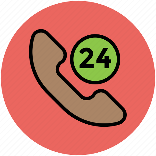 customer service, customer support, helpline, phone, support, telephone service, twenty four hours service icon
