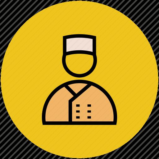 avatar, chef, cook, head cook, hotel staff, waiter icon