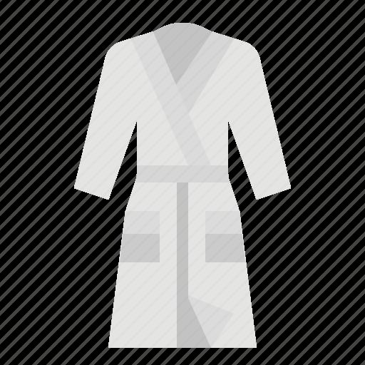 Bathing, bathrobe, bathroom, clothing, spa icon - Download on Iconfinder