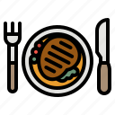 breakfast, food, lunch, meal, restaurant icon