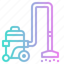 clean, cleaning, electric, household, vacuum icon