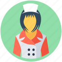 female waiter, hotel staff, stewardess, waiting staff, waitress icon
