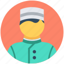 food server, hotel staff, male waiter, waiter, waiting staff icon
