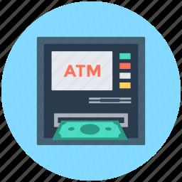 atm, atm machine, automated teller machine, cash machine, cashpoint icon