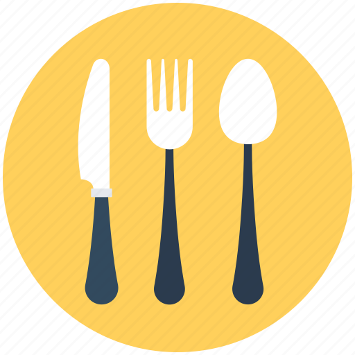 Cutlery, fork, knife, spoon, utensil icon - Download on Iconfinder