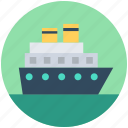 vessel, water transport, ship, boat, cruise