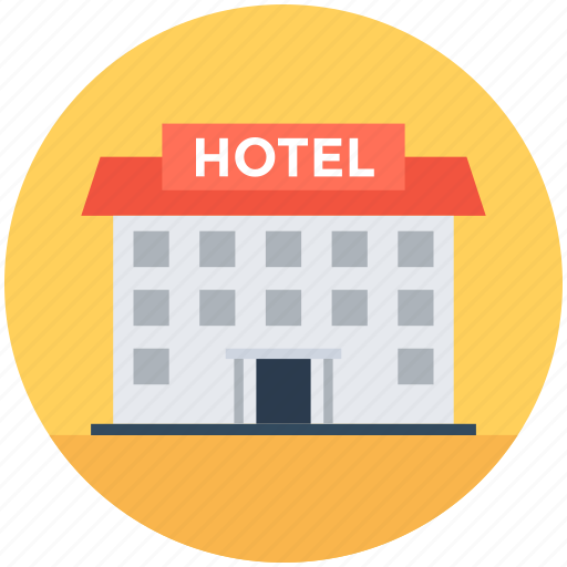building, hotel, lodge, luxury hotel, real estate icon