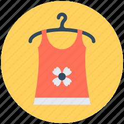 blouse, hanger, woman clothing, woman top, women apparel icon