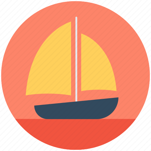 boat, cruise, sailboat, ship, yacht icon