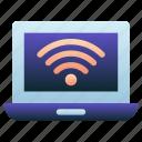 wifi, signals, internet, online