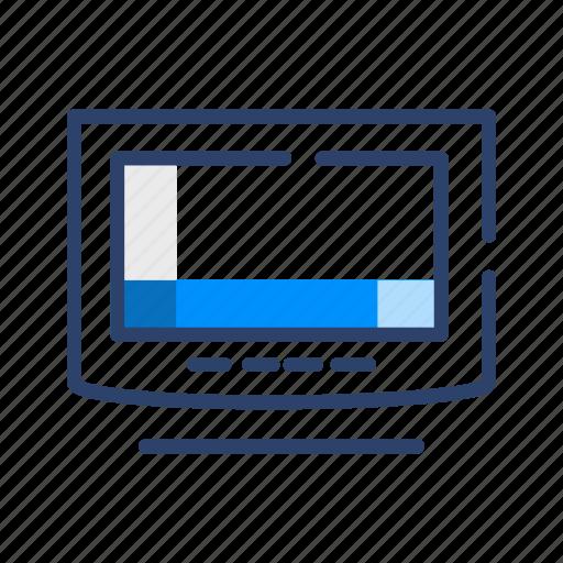 computer, desktop, hardware, monitor, screen icon