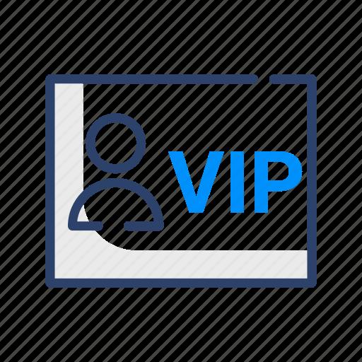card, hotel, travel, vip icon