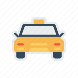 cab, car, taxi, transport, transportation, travel, vehicle icon