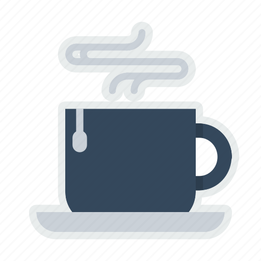 bag, coffee, cup, drink, hot, mug, tea icon
